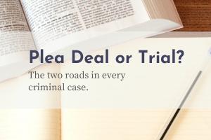 plea deal or trial